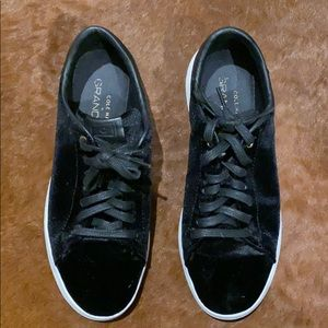 Cole Han Grand Pro Velvet Sneakers